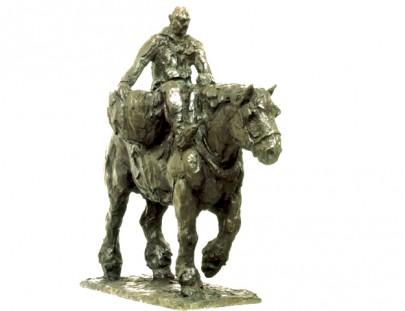 pecheur a cheval  846 x 750 x 385
