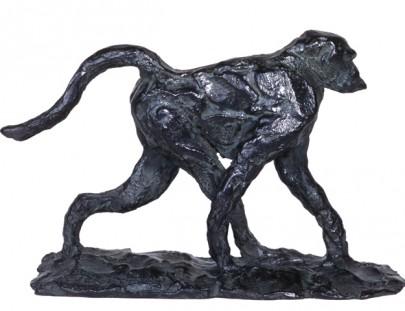 petit babouin en marche  110 x 190 x 160
