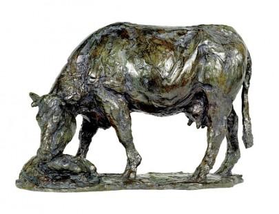 vache lechant son veau dun jour  256 x 370 x 168